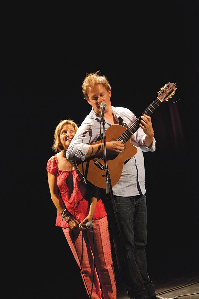 Presque Nous - Sophie Forte & Thibaud Defever - photo : Pidz.com
