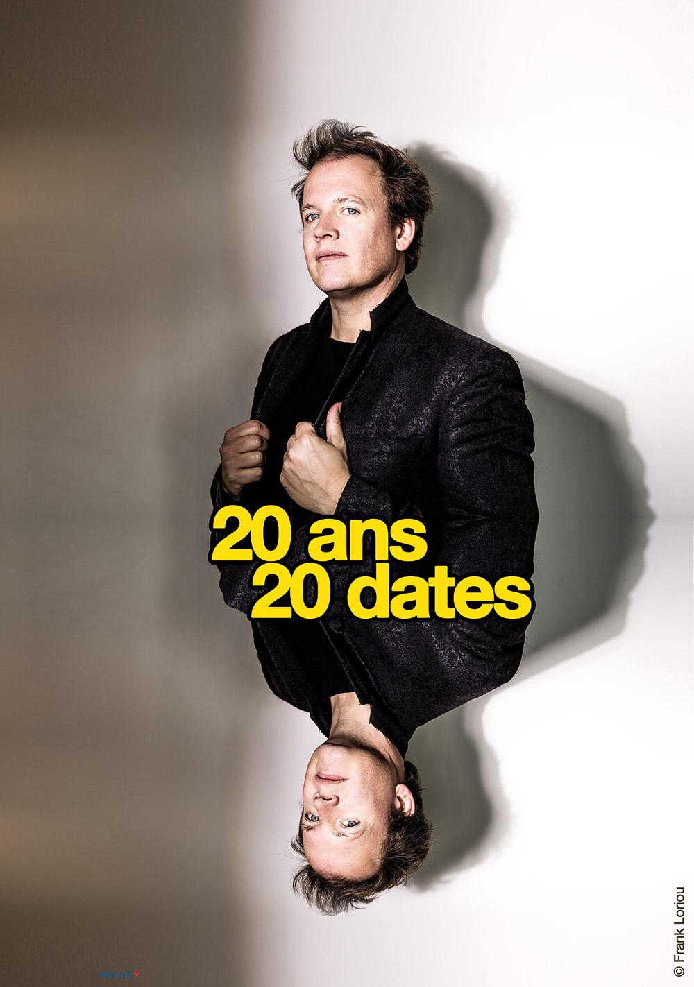 Presque Oui - 20 ans 20 dates - Thibaud Defever - photo : Franck Loriou