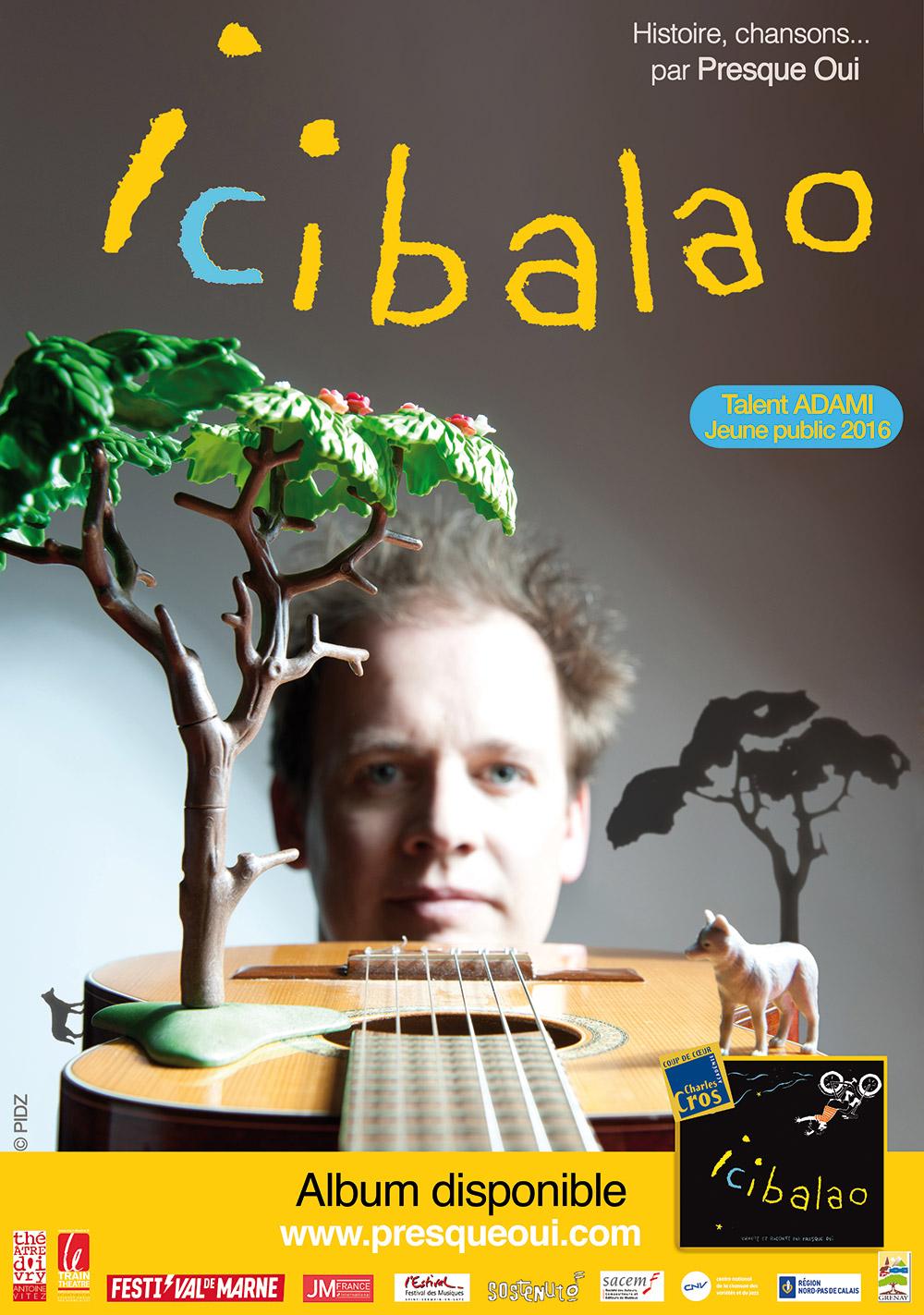Icibalao_spectacle Jeune Public - Thibaud Defever - photo : Pidz.com